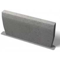 Reunakivi Benders Sileä 500x250x50 mm, harmaa