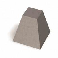Pilari Benders M20, 300x300x300 mm, harmaa