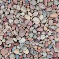 Luonnonkivi Benders 16-40 mm, 15 kg säkki, punaharmaa