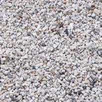 Koristekivi Benders Graniittimurske 8-12 mm, 15 kg säkki, valkoinen