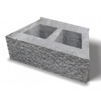 Muurikivi Bender Megasmart, 400x200x150 mm, harmaa