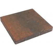 Betonilaatta 300x300x50mm, sileä, punamusta