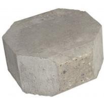Muurikivi Beto-vallimuuri, kansipääty, 200x200x100mm, harmaa