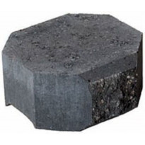 Muurikivi Beto-vallimuuri, kansipääty, 200x200x100mm, musta