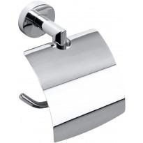 WC-paperiteline Bemeta Omega kannella, 142 mm, kromi