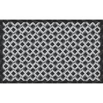 Matto Beija Flor Marble Mosaic-1, 60x97cm, musta/harmaa/valkoinen
