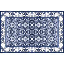 Pöytätabletti Beija Flor Armenian, 33x50cm, sinivalkoinen