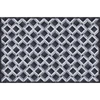 Pöytätabletti Beija Flor Marble Mosaic-1, 33x50cm, musta/valkoinen