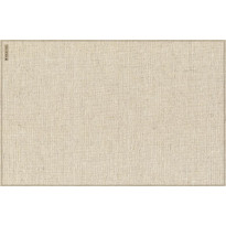 Pöytätabletti Beija Flor Linen, 33x50cm, beige