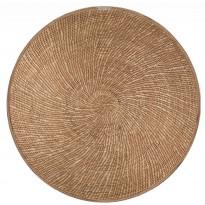 Pöytätabletti Beija Flor Spiral Reed, Ø38cm, ruskea