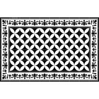 Pöytätabletti Beija Flor Sofi, 33x50cm, musta/valkoinen