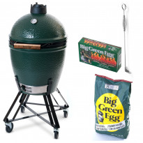 Hiiligrilli Big Green Egg, Peruspaketti, Large