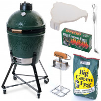 Hiiligrilli Big Green Egg, Peruspaketti, Medium Plus