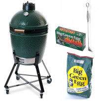Hiiligrilli Big Green Egg, Peruspaketti, Medium