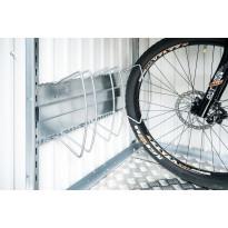 Polkupyöräteline puutarhavajaan Biohort bikeHolder Europa, AvantGarde, HighLine, Panorama ja HighBoard 200