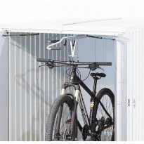 Ulosvedettävä polkupyöräteline pihavarastoon Biohort MiniGarage