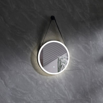 Valopeili Bathlife Glimma, Ø450mm, virtakytkimellä, Verkkokaupan poistotuote