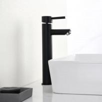 Pesuallashana Bathlife Bubbla, korkea, musta, Verkkokaupan poistotuote