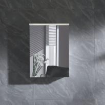 Peilikaappi LED-valolla Bathlife Skillra 500, valkoinen