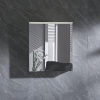 Peilikaappi LED-valolla Bathlife Skillra 600, valkoinen