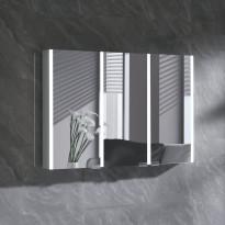 Peilikaappi LED-valolla Bathlife Skillra 1000, harmaa