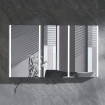 Peilikaappi LED-valolla Bathlife Skillra 1200, vaaleanharmaa
