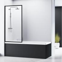 Ammeseinä Bathlife Profil, 800mm, musta profiili