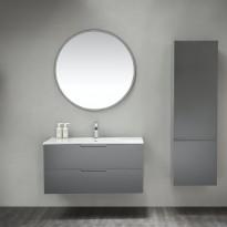 Sivukaappi Bathlife Eufori, 450x1500x350mm, harmaa