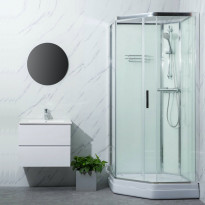 Suihkukaappi Bathlife Ideal Elegant 900 x 900 mm