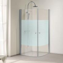 Suihkunurkka Bathlife Orio 012, 900x900mm, huurreraidoitus