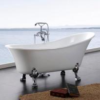 Tassuamme Bathlife Fossing 1620, 1620x710mm, 180l, valkoinen, Verkkokaupan poistotuote