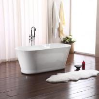 Kylpyamme Bathlife Ideal Retro, 1590 mm, valkoinen
