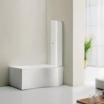 Ammeseinä Bathlife Ideal Form, kaareva
