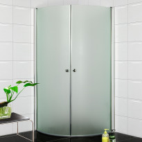Suihkunurkka Bathlife 900, 900x900mm, pyöristetty, himmeä