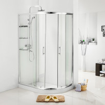 Suihkunurkka Bathlife Home 1200 A, 1200x800mm