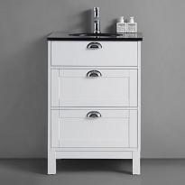 Allaskaappi Bathlife Lycka, 600x480mm, valkoinen