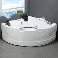 Poreamme Bathlife Vighet 1500, 1500x1500mm, 430l, veden ylläpitolämmittimellä