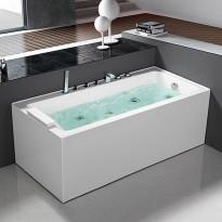 Poreamme Bathlife Pusta 1500, vasen, 1500x750mm, 290l, Tammiston poistotuote