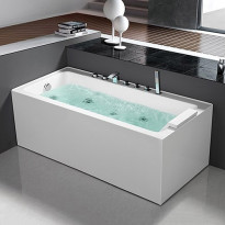 Poreamme Bathlife Pusta 1500, oikea, 1500x750mm, 290l, veden ylläpitolämmittimellä