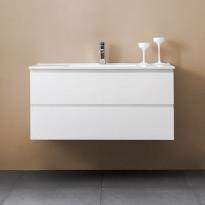 Allaskaappi Bathlife Eufori 1000, valkoinen, 1000x500x460mm