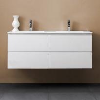 Allaskaappi Bathlife Eufori 1200, valkoinen, 1200x500x460mm