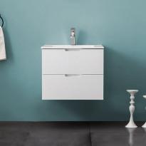 Allaskaappi Bathlife Glädje 600, valkoinen, 600x500x460mm