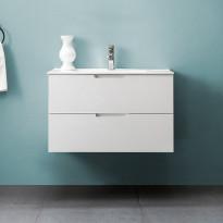 Allaskaappi Bathlife Glädje 800, valkoinen, 800x500x460mm