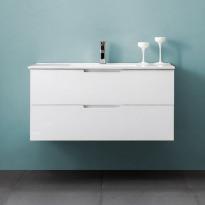 Allaskaappi Bathlife Glädje 1000, valkoinen, 1000x500x460mm