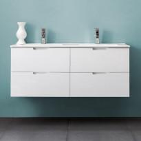 Allaskaappi Bathlife Glädje 1200, valkoinen, 1200x500x460mm