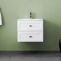 Allaskaappi Bathlife Salig 600, valkoinen, 600x500x460mm