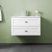 Allaskaappi Bathlife Salig 800, valkoinen, 800x500x460mm