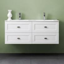 Allaskaappi Bathlife Salig 1200, valkoinen, 1200x500x460mm