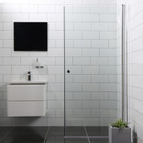 Suihkuovi Bathlife Mångsidig Vital, 900x1900mm, S/P kirkas