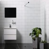 Suihkuseinä Bathlife Mångsidig Vital, 900x1900mm, P/P kirkas, Verkkokaupan poistotuote